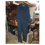 Red Kap lightweight overalls. Zipper needs to be