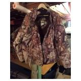 Ideal camo hunting coat. X-large