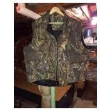 Field and stream camo vest. X-Large