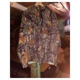 Ideal lightweight button up coat. XXL