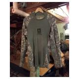 U.S. Army digital camo long sleeve shirt. Large