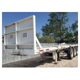 2013 Flatbed Trailer - EXPORT ONLY