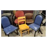 Lot of Assortment of Office Chairs