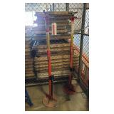 Lot of 2 Hein Werner Lift Vehicle Stands