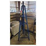 Blue Tripod Vehicle Lift