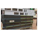 Stack of 17 ISP Switch Panels