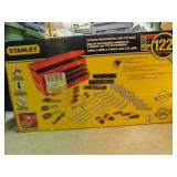 Stanley 122 Piece Tool Box/Tools