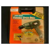 Black & Decker Variable Speed Drill