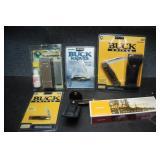Buck Brand Knives & Sharpening Stone