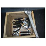 Box of Craftsman & Tool Shop Wrenches