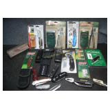 Variety of Pocket & Utility Knives