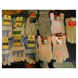 11 Pair of Work Gloves & Liners