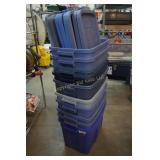 10 Rubbermaid Ruffneck Totes