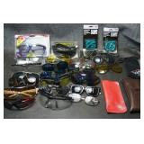 Lot of Sunglasses & Safety Glasses