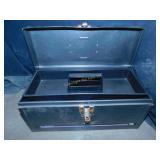 Metal Tool Box w/Tools