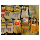 10 Pair of Work Gloves