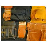 Tote of Tool Belts, Pouches