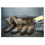 2 Pair Sorel Winter Boots