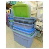 7 Rubbermaid Ruffneck Totes