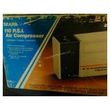 Sears 110 P.S.I. Air Compressor