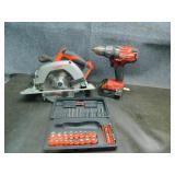 Milwaukee 18V Brushless Drill & Circular Saw