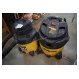 Shop Vac Ultra Pro 18 Gallon & 12 Gal QSP Pro