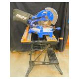 Benchtop 10in Compound Miter Saw w/ Workmate 225