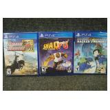 PS4 Games Dynasty Warriors, Digimonstory, Shaq Fu