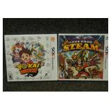 Nintendo 3DS Games Yo-Kai- Watch, Code Name Steam