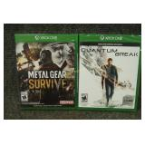 Xbox One Games Quantum Break, Metal Gear Survive