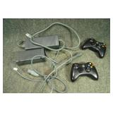 Box 360 Controllers & 2 Power Adapters