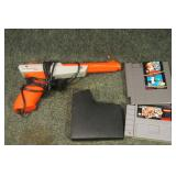 Nintendo Games & Light Gun