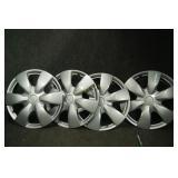 "Toyota Yaris, 15"" Silver Replica Wheel Cover"
