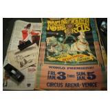 Antique Ringling Bros/Barnum Bailey Circus Poster