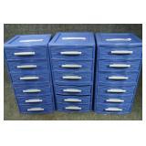 6 - Sterilite Small 3 Drawer Storage