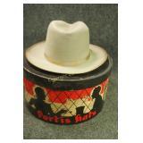 Vintage Portis Beaver Blend Hat