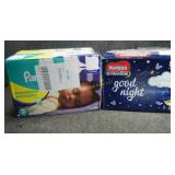 2 Boxes Size 3 Diapers