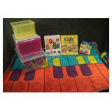 Kids Storage & Floor Piano