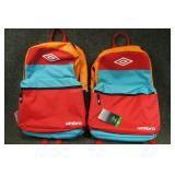 2 - Umbro Back Packs