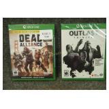 Xbox One Games Outlast Trinity , Dead Alliance