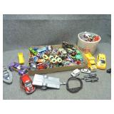 Large Lot of Misc Cars, Matchbox, Hot Wheels & Mor