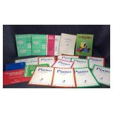 Variety of Vintage Piano Instruction Books