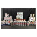 Lot of Vintage Beer Cans