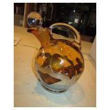 """8"""" Glass Art Deco Decanter"""