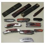 Pocket Knives, Multi-Tool, Antique Straight Razors