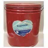 "14"" Vintage 50 Pound Morrell Lard Can"