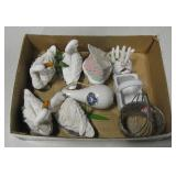 Resin Geese, Metal & Ceramic Decor