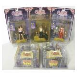 5 NIP Charmed Action Figures - Sota Toys