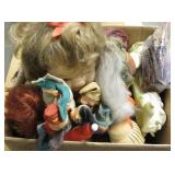 Large Box Collectible Dolls