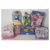 Tub w/ Toys & Dolls - Most New In Package